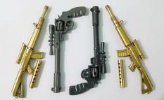 Combo 4 cây bút viết hình vũ khí độc lạ