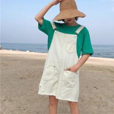 quần short jeans yếm phối túi Mã: QN841