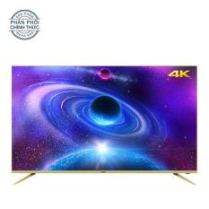 Smart Tivi Led Asanzo 55 inch Ultra HD 4K – Model 55AU7900, 55AU8000 (Viền Vàng Nhạt)