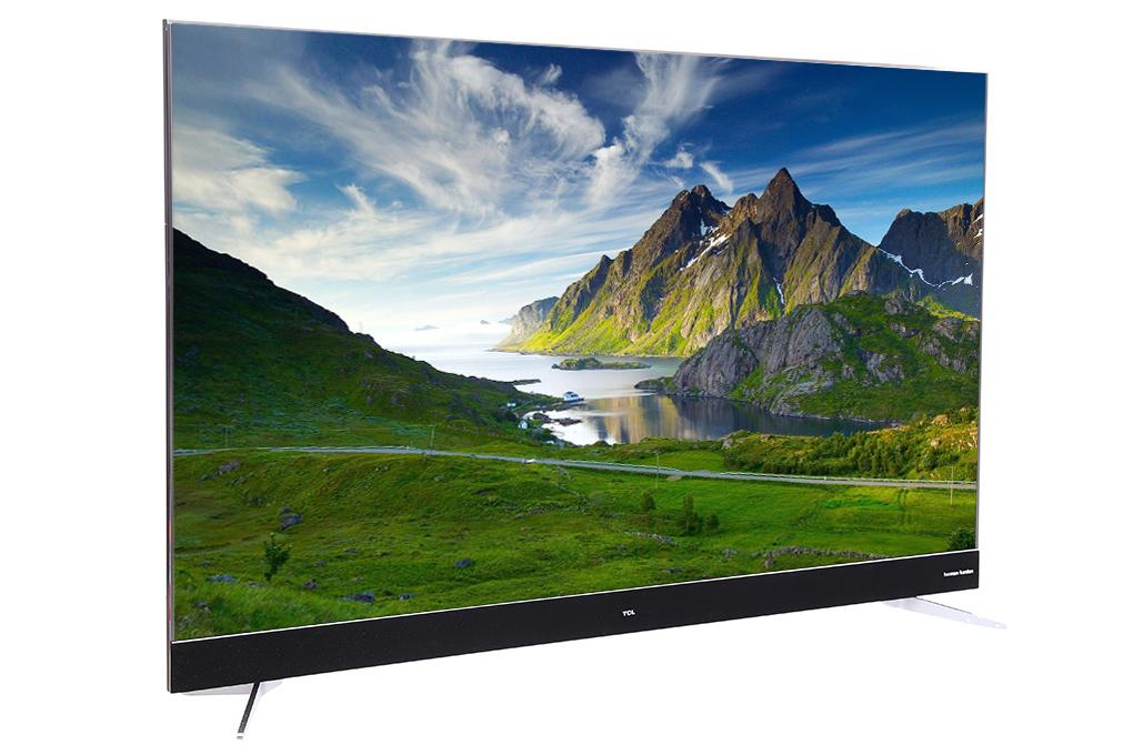 Smart TV Android TCL 55 inch 4K HDR L55C2-UF (Đen)