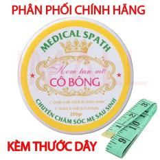 Kem tan mỡ Cô Bông (250g) giúp giảm mỡ bụng tặng thước dây