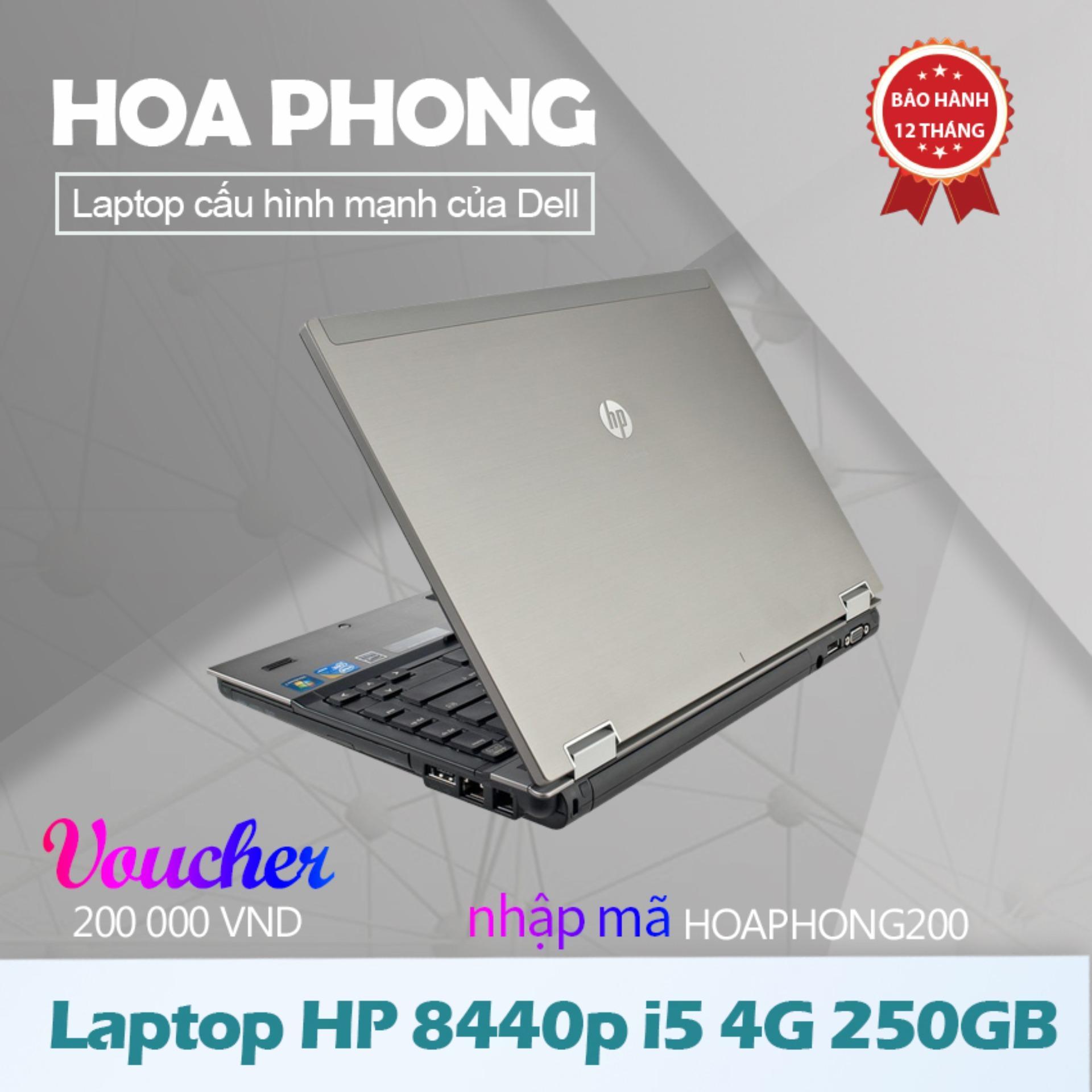 Laptop HP 8440p i5 4G 250GB - Hàng nhập khẩu