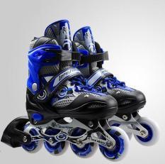 Giày Trượt Patin QF Màu Xanh Biển Full Size