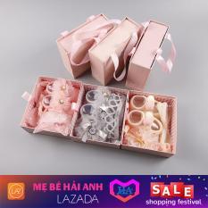 Set giày nơ dễ thương cho bé sơ sinh 0-6 tháng, đồ dùng cho trẻ – GDTRONGL71
