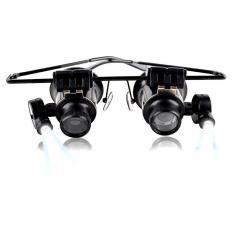 Kính lúp đeo sửa chữa kính phóng đại 20 lần xem vật 5mm đến 15mm