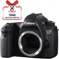 Canon 6D (WiFi) (Body), Mới 100% (Hàng Canon Lê Bảo Minh) – Tặng túi Canon, Thẻ 16G