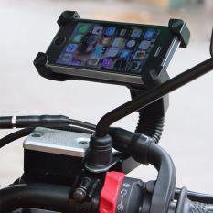 Mua Giá đỡ điện thoại kẹp 4 góc gắn kính chiếu hậu xe máy – Loại chất lượng ở đâu tốt?