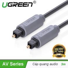 Dây audio quang Toslink dài 3M UGREEN AV122 10771 – Hãng phân phối chính thức