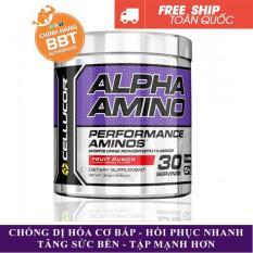 BCAA Alpha Amino của Cellucor hỗ trợ tập nặng phục hồi cơ liên tục 30 lần dùng – chính hãng BBT