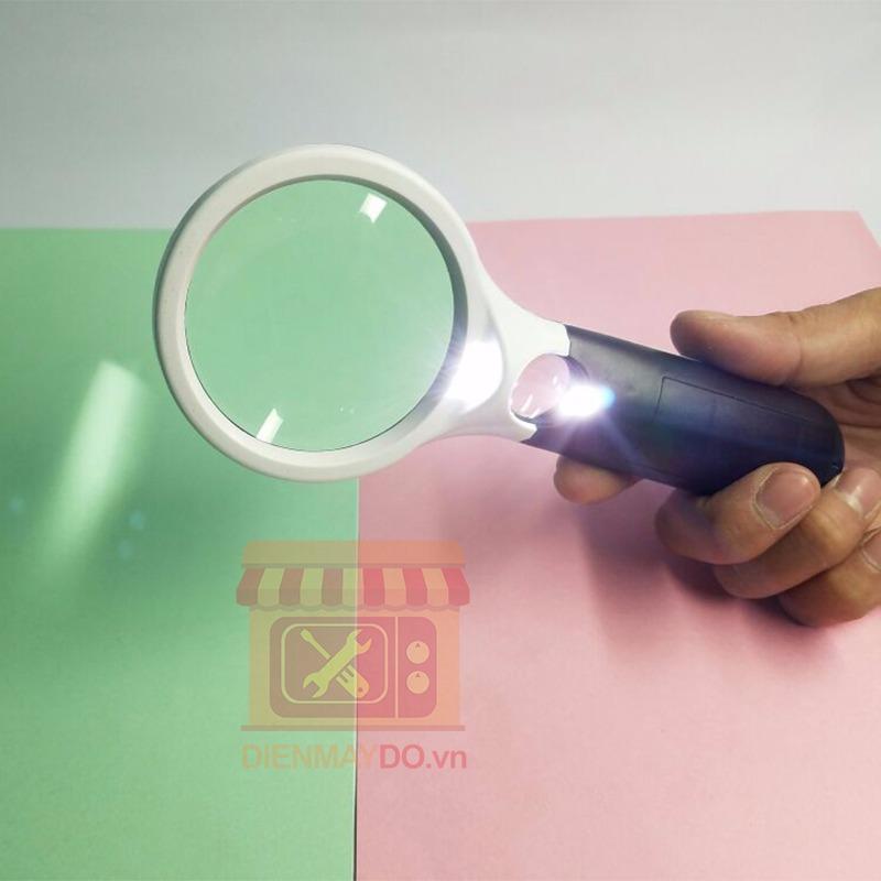 Kính lúp cầm tay có Led Magnifier Zoom x10,x20 lần loại tốt nhất