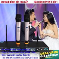 Micro karaoke giá rẻMicro không dây karaoke Super PRO U99 hay nhất, dòng sản phầm CAO CẤP nhất 2018 – BH uy tín 1 đổi 1 TECH-ONE.