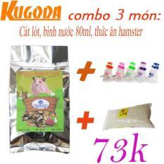 Bộ 3 sản phẩm cho hamster – kgd0305
