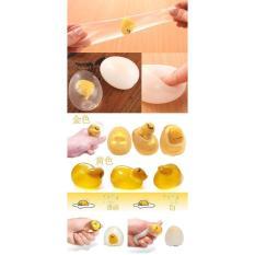 ►Mochi Squishy◄ Trứng lười Gudetama – Trứng Biến Thái – Tặng Nút chống bụi cho điện thoại – Squishy Mochi loại cao cấp