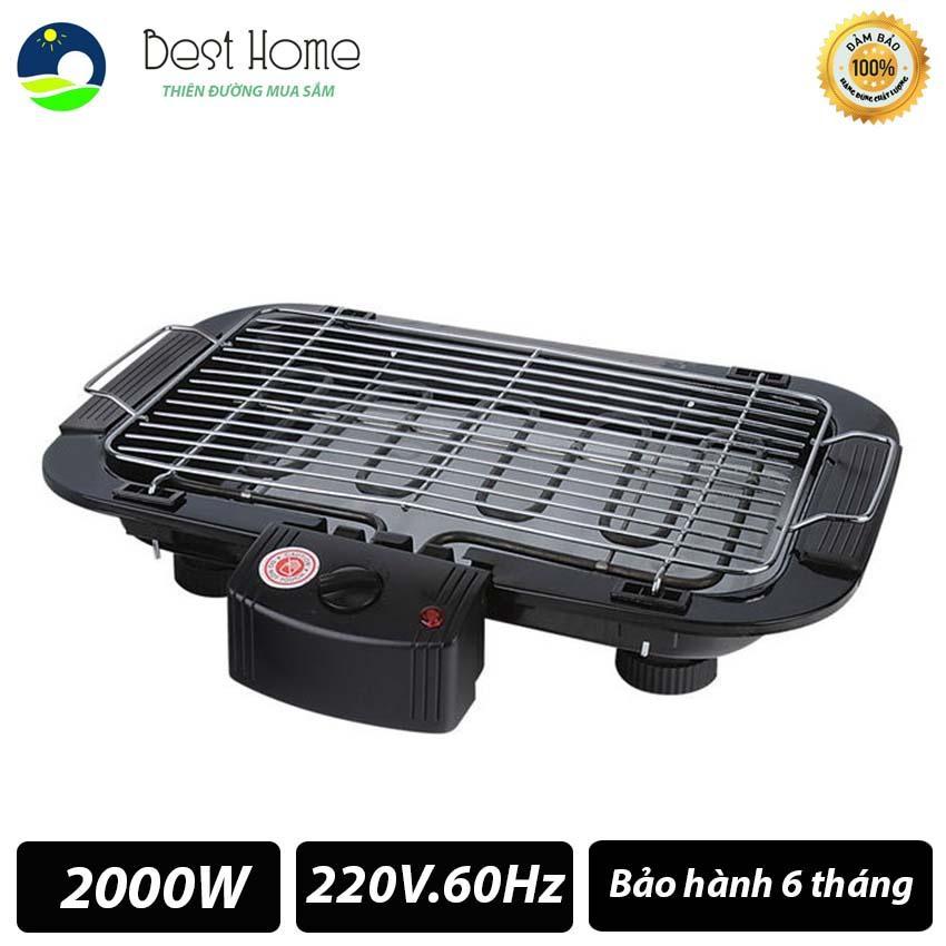 Bếp nướng điện không khói Electric barbecue grill 2000W