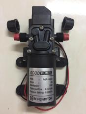 Máy bơm mini tăng áp lực nước loại 12V – 70W lưu lượng 6L/phút