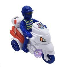 Đồ chơi xe mô tô cảnh sát 3 bánh bằng nhựa chạy bằng dây cót – ĐỒ CHƠI CHỢ LỚN