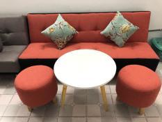 SF – Sofa bed, sofa giường đỏ 1m7x90, bộ sofa phòng khách, salon, sopha, sa lông, sô pha, bàn ghế sofa