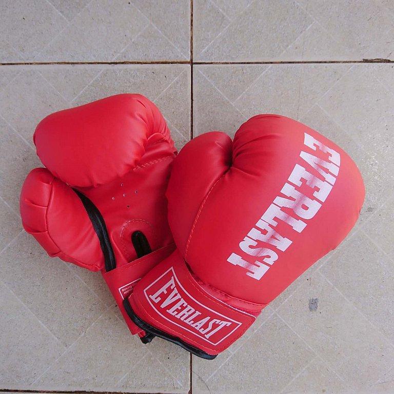 Găng Tay Đấm Boxing Everlast Trẻ em 8 - 14 tuổi (Đỏ)