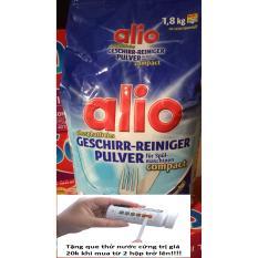 Bột rửa bát Alio 1.8kg – hàng Đức, tặng que thử 20k hoặc 3 viên tổng hợp