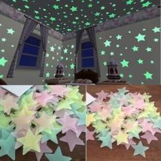Túi 100 ngôi sao phát sáng dạ quang trang trí phòng