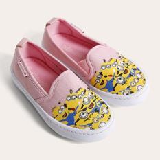 Giày Sneaker Bé gái thời trang D&A BG1604 hồng