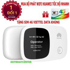 WIFI DI ĐỘNG 3G 4G HUAWEI E5336 (Trắng) – Hãng phân phối chính thức – Tặng sim 4g viettel data khủng