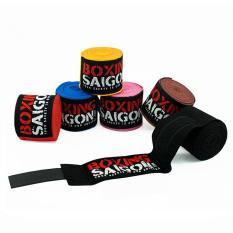 Băng quấn tay Boxing Saigon 4.5m ( Vàng )