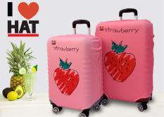 Vỏ bọc vali Strawberry, áo bọc vali size S-M-L