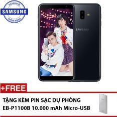 Cập Nhật Giá Samsung Galaxy J6+ 32GB – Hãng phân phối chính thức + Tặng kèm Pin sạc dự phòng 10.000mAh EB-P1100 | Samsung