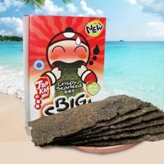 Snack rong biển Big Sheet Taokaenoi vị cay 4g x 12 bịch
