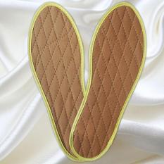 (combo 3 đôi) Lót quế hút mồ hôi (nam/nữ)- Miếng lót giày hương quế khử mùi hôi chân – HoaMy lotque 1