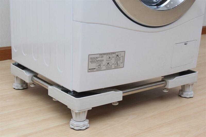 Kệ để máy giặt tủ lạnh – không bánh xe + Kê chân máy giặt tủ lạnh