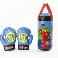 Bộ dụng cụ tập đấm bốc Boxing kèm găng tay bao cát – dụng cụ thể thao quyền anh