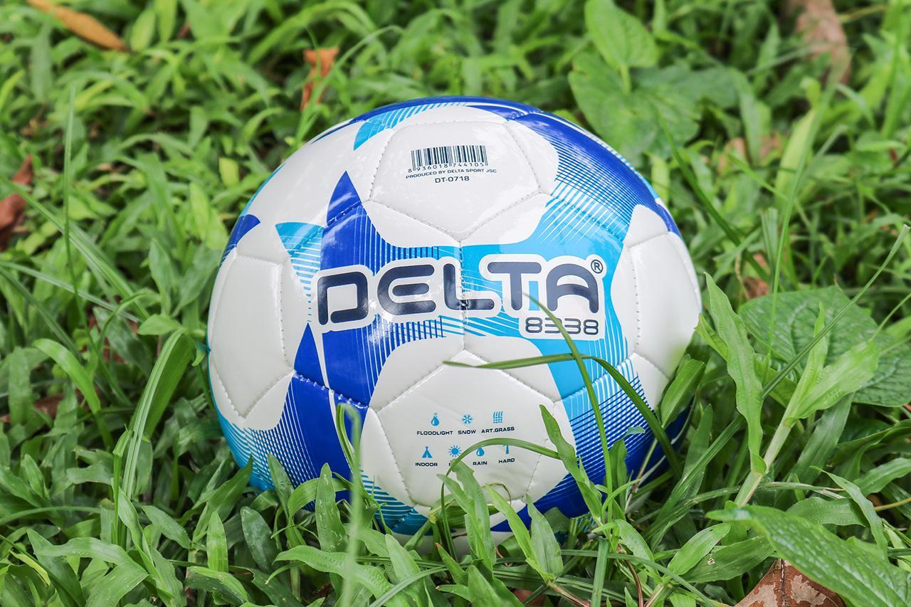 Bóng may máy Delta 4105 size 4 - Tặng kèm bộ kim bơm bóng và lưới đựng bóng.