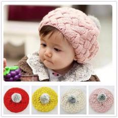 Combo 2 bộ mũ len cho bé, mũ nồi xinh xắn cho các bé (3 màu)