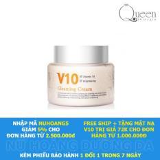 Kem dưỡng trắng sáng da mặt V10 Skinaz