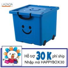 Thùng nhựa đựng đồ Happy Box YW-01 (Xanh da trời)