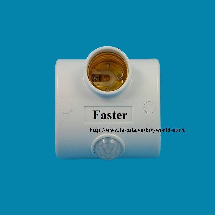 Chuôi đèn cảm ứng chuyển động (Hồng ngoại) Faster