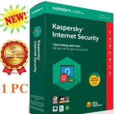 Phần mềm diệt virus Kaspersky Internet Security 1PC/year – 2018 – HÃNG PHÂN PHỐI CHÍNH THỨC