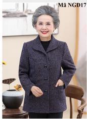 Áo khoác dạ người già, người lớn tuổi NGD17