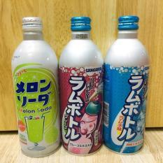 Soda Dưa Lưới-Nho Tím -Chanh Sangaria-Nhật