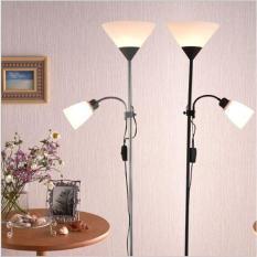 Đèn cây đứng trang trí nội thất IKEA 2 TRONG 1 FULL BOX loại 1 – Tặng kèm 2 Bóng LED cao cấp cho đèn
