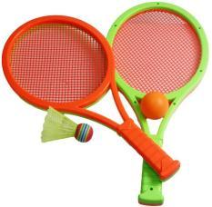 Bộ đồ chơi 2 trong 1 ( Cầu Lông và Tennis ) giúp bé hoạt động vui vẻ
