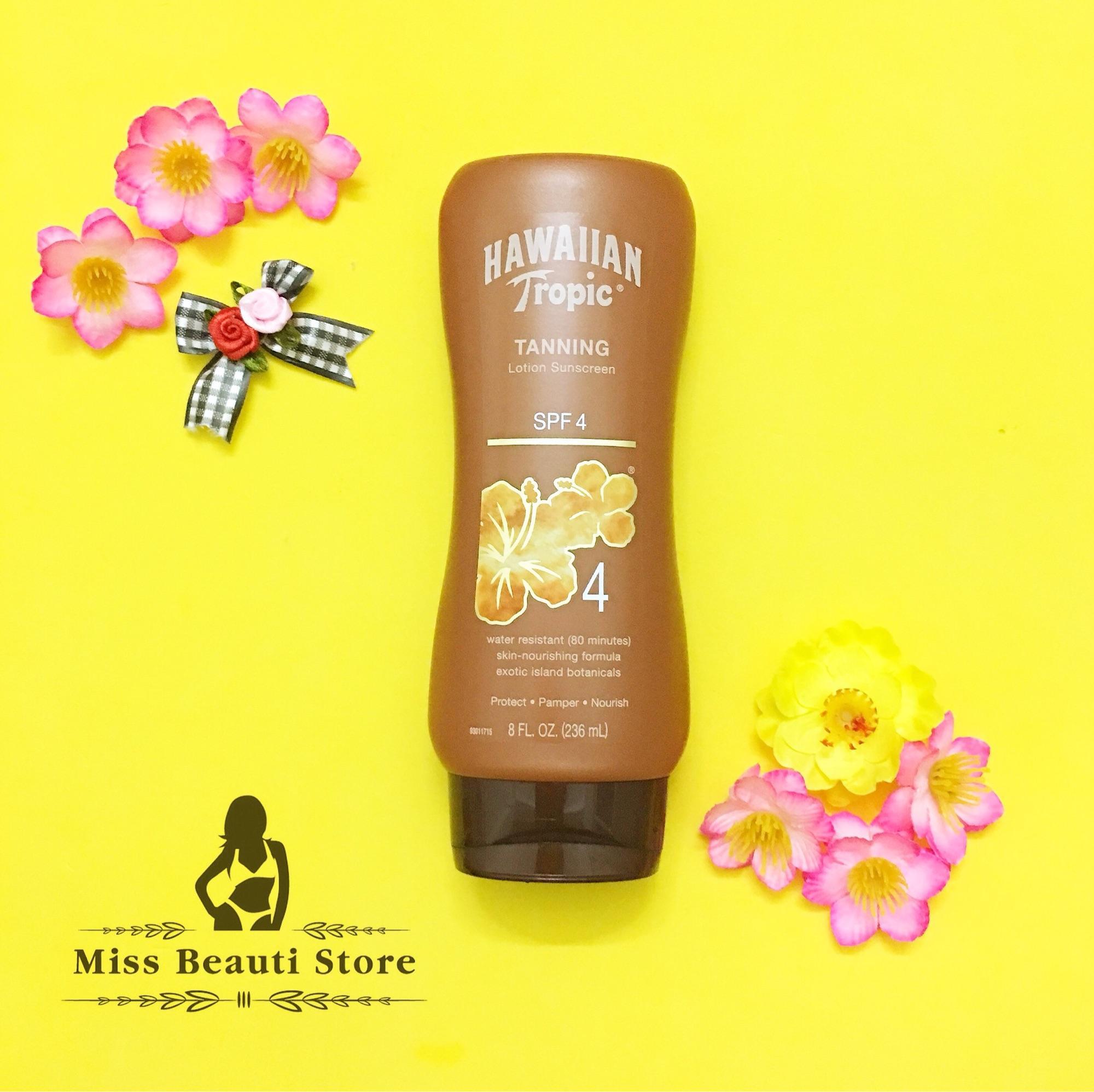 Tanning lotion Hawaiian Tropic