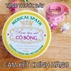 Kem tan mỡ Cô Bông (250g) giúp giảm mỡ bụng kèm thước dây