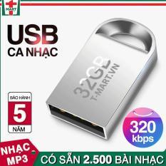 USB 32GB sẵn 2500 bài nhạc MP3 / USB ô tô / USB ca nhạc nhiều thể loại – dùng để nghe trên ô tô hoặc điện thoại