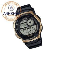 Đồng hồ nam dây nhựa Casio Anh Khuê Đại Lý Casio Phước Lộc AE-1000W-1A3VDF