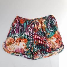 Quần đùi nữ mặc nhà thun lạnh size 51 – 60kg
