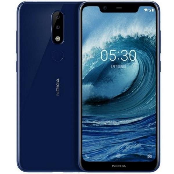 Nokia X5 32GB Ram 3GB (Xanh) - Hàng nhập khẩu