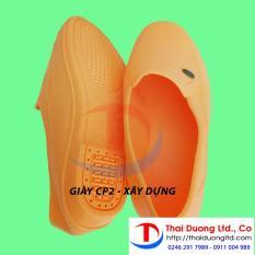 Giày nhựa bảo hộ lao động siêu nhẹ vàng size 42_BHLD Thai Duong